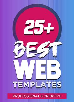 25+ Best Single Page Web Templates #webtemplates #webdesign #onepagetemplates #onepagewebsites #psdtemplates #singlepagedesign