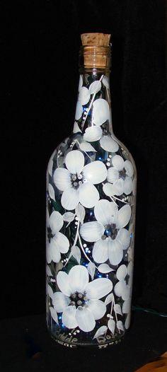 White flowered Bottle of Light.