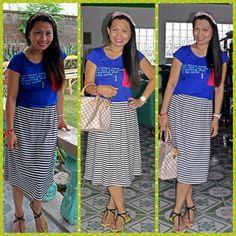 Dress-bangkok. Dress,sandal-vincci,bag-loius vuitton,accesories-h&m,watch-lacoste