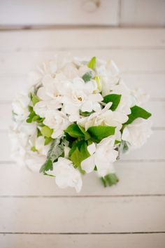 heavenly smelling gardenia bouquet maybe from our backyard ; Bridal Flowers, Flower Bouquet Wedding, Floral Wedding, Bouquet Flowers, Gardenia Bouquet, Gardenia Wedding, Bouquet Photography, Our Wedding, Dream Wedding