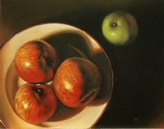 'Prejudice'! still life painting in oils SOLD