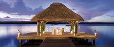 Beachside ceremonies at One & Only Le Saint Gèran, Mauritius.
