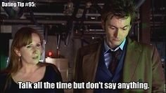 Dating Tips from the Doctor From the archives of the Timelords and Whovians