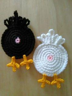 Terrific Photos Crochet coasters funny Tips Crochet Gifts, Cute Crochet, Easy Crochet, Crochet Hooks, Knit Crochet, Funny Crochet, Crochet Potholders, Crochet Stitches, Crochet Patterns