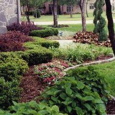 Front Yard Landscape Ideas - traditional - landscape - dallas - Green Meadows Landscaping
