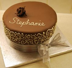 Images For > Simple Cake Decoration