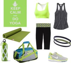 """Keep Calm and Do Yoga"" by alexia-rose on Polyvore"