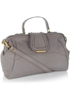 Chester gray day bag from Monsoon | gray purse with cross body strap