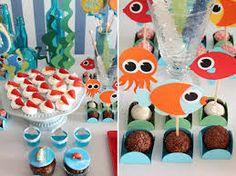 festa criança fundo do mar - Google Search