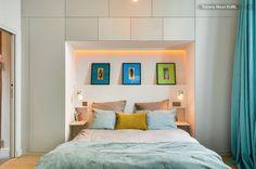 cupboard and headboard. Armario y cabecero para cama. Armari i capçal de llit