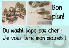 Bon plan : enfin du washi tape abordable !