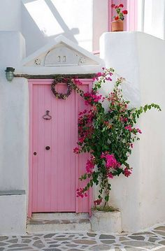 Pink Door #travel   ..rh