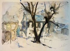 watercolor My Arts, Paintings, Watercolor, Pen And Wash, Watercolor Painting, Paint, Painting Art, Watercolour, Painting