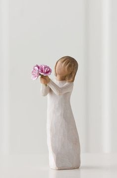 Thank You - Willow Tree Figurine - The Shabby Shed  Sentiment: So appreciative of all you do!