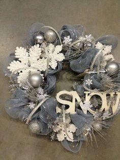 Winter #Wreath #Decomesh