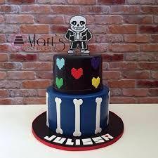 Resultado de imagen para undertale birthday cake