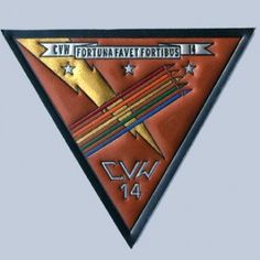 Buy CVW 14 Fortuna Favet Fortibus Leather patch FlightJacket.com