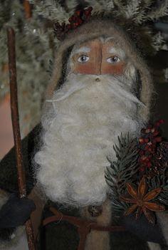 I like this Santa's face.