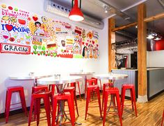RICARDO·CAVOLO DIARY: Murals for Art & Burger.