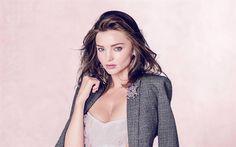 Lataa kuva Vogue, Miranda Kerr, 2017, supermalleja, siniset silmät, ruskeaverikkö, kauneus