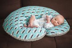 Custom products  Big Nursing Pillow Boppy Breastfeeding by NuvaArt