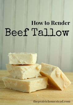 Learning how to render tallow is a time-honored skill which will enable you to make your own soaps and candles. It's easier than you think!