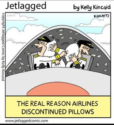 The real reason they discontinued pillows.