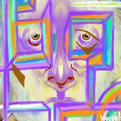 Chocolate Rainbow Eye by Mannaah Blackwell Hidden Manna, Rainbow Eyes, Eye Painting, Greeting Cards, Chocolate, Wall Art, Schokolade, Chocolates