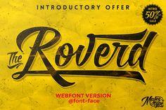 Check out Roverd Webfont + Bonus by dexsarharryfonts on Creative Market