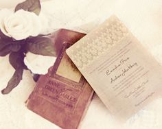 Victorian Elegance and Lace Wedding Invitations  by DaysGoneDesign, $50.00