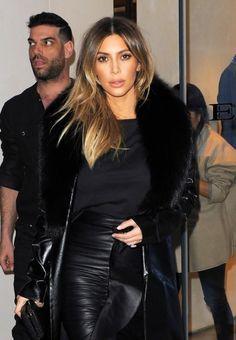 Kim Kardashian Blond hair