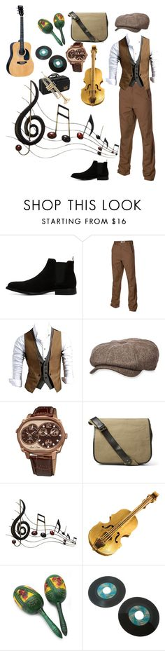 """""""I'm thankful for music"""" by prince-jellyfish ❤ liked on Polyvore featuring ALDO, Mountain Khakis, Stetson, Joshua & Sons, Dries Van Noten, Benzara, NOVICA, Jean-Paul Gaultier, men's fashion and menswear"""