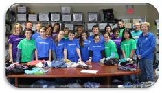 Collection Drive and Day of Service at The Sharing Shelf in Port Chester – Nov. 2014