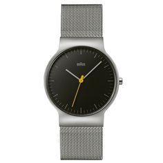 The Braun BN0211 features an all new super slim 6.5mm case and a streamlined profile. #design #watches