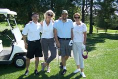 A very fun group of golfers!