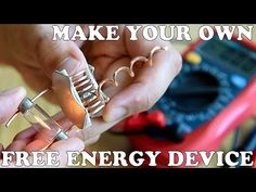 how to make a free energy device, cheap and easy - ??YouTube