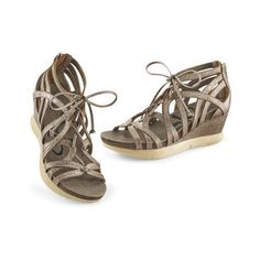 Nomadic Metallic Pewter Gladiator Sandals Size 10 Pewter ($140) ❤ liked on  Polyvore featuring