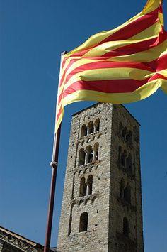 Campanar de Sant Just i Sant Pastor de Son al Pallars Sobirà (Catalonia)