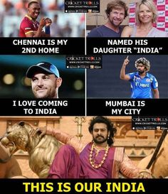 Everyone loves INDIA :) For more cricket fun click: http://ift.tt/2gY9BIZ - http://ift.tt/1ZZ3e4d