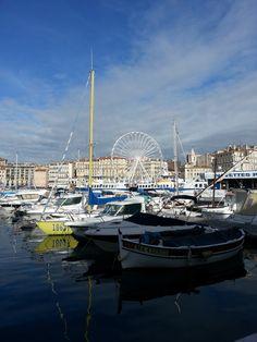 Marseille vieux port, novembre 2014.