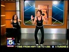 "T-Tapp on MyFoxAtlanta THE move for ""Mommy Tummy""?!   It's on Healthy Hormones Menopause Management and Senior Fit, but it's also free on YouTube! (There will be a bit of chit-chat in the beginning. )"