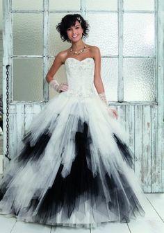 ... mariée on Pinterest  Robes, Heavy metal wedding and Salsa bachata