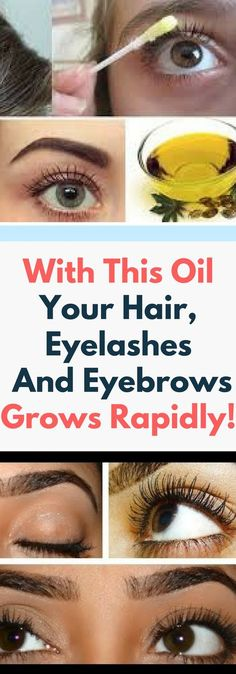 With This Oil Your Hair, Eyelashes And Eyebrows Grows Rapidly.. Need to know..!!