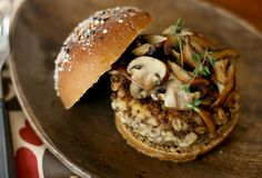 my mother HATES veggie burgers but i am so making mushroom burgers with barley for her. they sound divine.