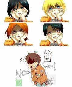 Yay~ everyone loves Eren♡