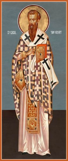 St Basil the Great – Damascene Gallery Greek Icons, St Basil's, Religious Paintings, Byzantine Icons, Religious Icons, Orthodox Icons, Saints, Roman Catholic, The Guardian