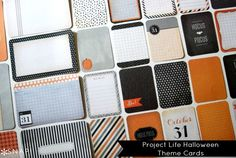 Project Life Halloween Theme Pack Preview #ProjectLife #Halloween