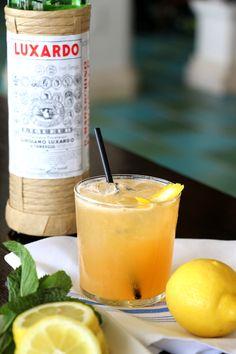 'Casa Cocktail'- Bulleit Rye, Luxardo, Lemon Juice and Ginger Beer.