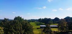 De golfbanen in Windhagen.