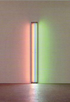 Stewart-Schafer | Inspiration | Dan Flavin  Titel: To Henri Matisse, 1964